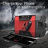 Emergency Solar Crank Radio AM/FM/NOAA Weather
