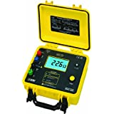 AEMC 4630 4-Point Ground Resistance Tester, Rechargeable Battery, 2000 Ohms Resistance, 0.1mA Current