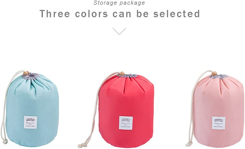 bolsa de almacenamiento impermeable color rojo bolsa de gran capacidad TONVER Bolsa de cosm/éticos de viaje paquete al aire libre lavable port/átil 17*23cm nailon Rosa