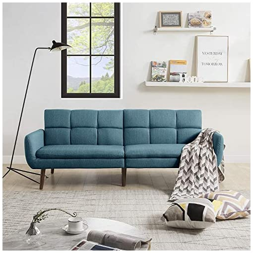 """Living Room Sofa Bed Sleeper Couches and Sofas – 74"""" Couch Recliner Convertible Sofa Modern Adjustable Futon Couches Sofas Bed for… modern sofas and couches"""