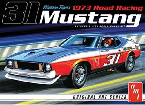AMT 1:25 Scale 1973 Mustang Warren Tope Model Car from AMT