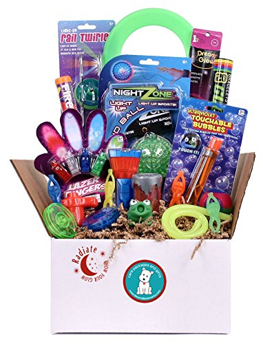 Radiate - Glow in the Dark Summer Camp Care Package or Birthday Gift for Kids -