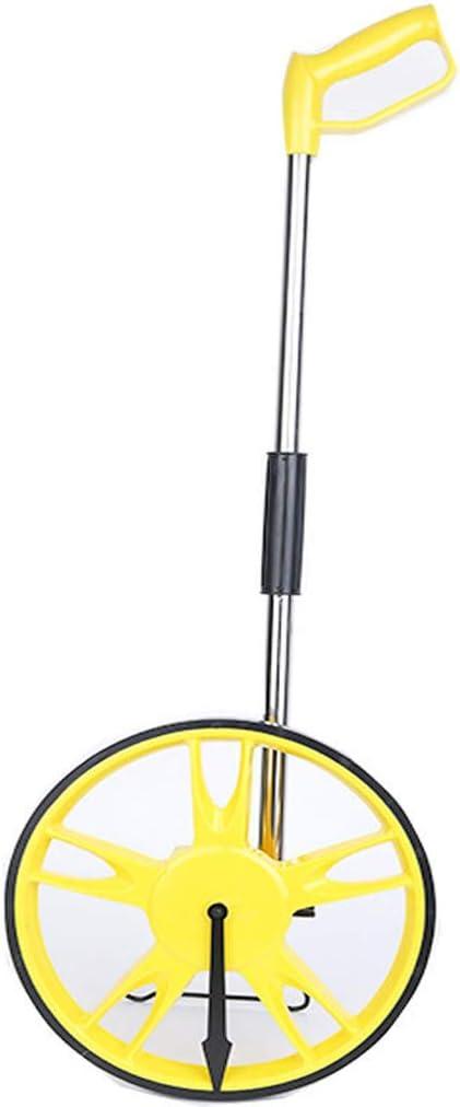MELAG Rueda de medición Rueda de medición de Distancia Herramienta de medición de telémetro mecánico contra-Rodillo Rueda Grande Rueda de Empuje Manual Tipo Rueda (diámetro de la Rueda 320 mm)