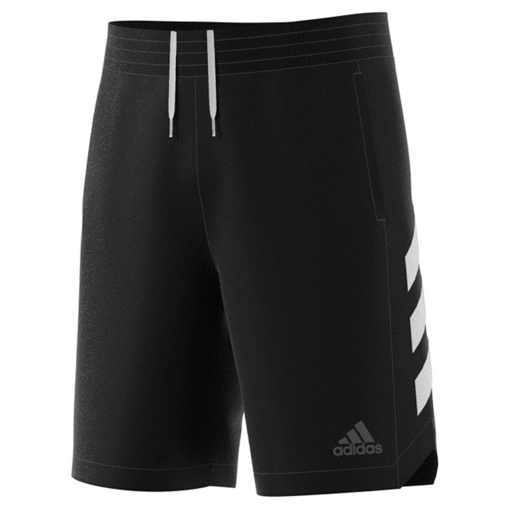 adidas Men's Sport Shorts Black/White Large 9
