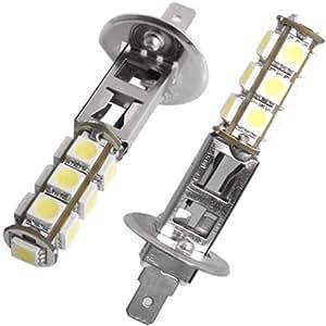 2x h1 13 smd led bombilla luz luces l mpara faros coche. Black Bedroom Furniture Sets. Home Design Ideas