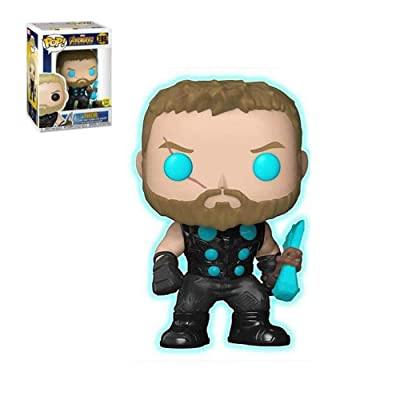 Funko POP Marvel Avengers Infinity War Thor Asia Exclusive Glows In The Dark: Toys & Games