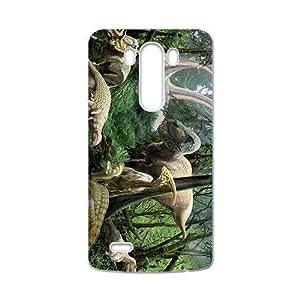 SHEP Forest Creative Creative Dinosaurs Custom Protective Hard Phone Cae For LG G3