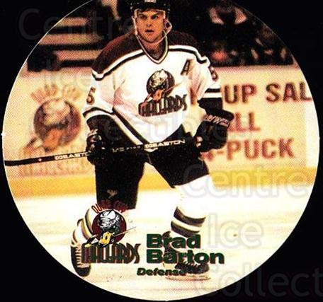 (CI) Brad Barton Hockey Card 1996-97 Quad City Mallards for sale  Delivered anywhere in USA