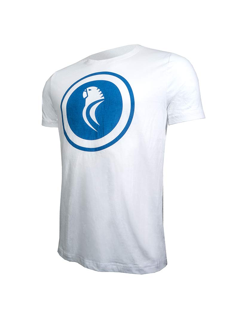 RCD Espanyol Camiseta Casual Mod. Blanca PERICO (L): Amazon.es ...