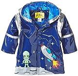 Kidorable Little Boys' Space Hero All Weather Waterproof Coat, Blue, Size 5/6