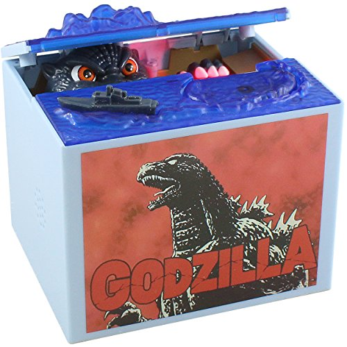 Mechanical Godzilla Toy Coin Bank For Kids   A Fun  Unique Alternative To Piggy Banks   Delights With Realistic Movements And Lifelike Designs   Perfect As Kids Birthday Or Creative Presents
