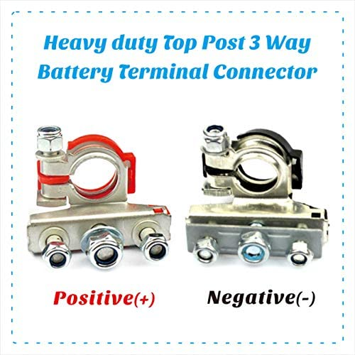 BATTERY TERMINAL ENDS TOP POST TYPE  2PC MARINE