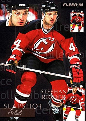 (CI) Stephane Richer Hockey Card 1994-95 Fleer Slapshot Artists 7 Stephane Richer