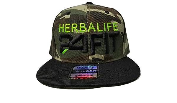 Amazon.com  Leader 3D Puff Herbalife 24fit Hat Cap Snapback Flatbill  Adjustable Unisex Health Flat Hat  Clothing ca61dd0dee05