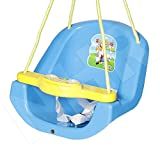 Archana NHR Attractive and Sturdy Baby n Toddler Swing with Light and Music (Blue) battery included