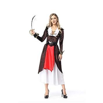 OLKWG Traje De Señora Pirata Vestido De Dama Pirata Traje De ...