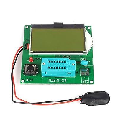 SainSmart Latest 12864 LCD Transistor Tester Capacitance ESR Meter LCR GM328A
