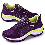 JINGJING Women's Lightweight Athletic Running Shoes Mesh Breathable Sports Fitness Gym Jogging Sneakers