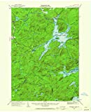 YellowMaps Cranberry Lake NY topo map, 1:62500 Scale, 15 X 15 Minute, Historical, 1919, Updated 1962, 21 x 17 in - Paper