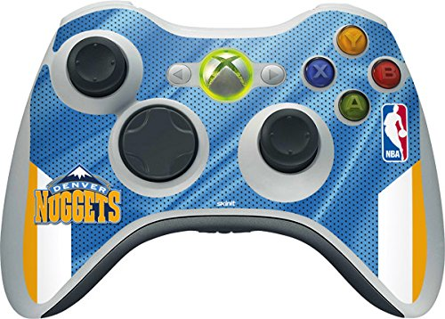 NBA - Denver Nuggets - Denver Nuggets - Skin for 1 Microsoft Xbox 360 Wireless Controller by Skinit