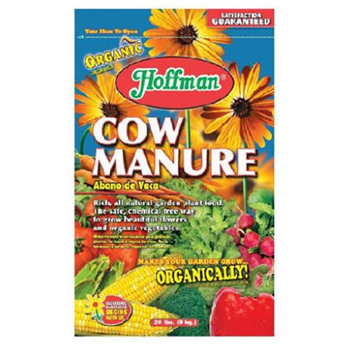 (Good Earth Hoffman 21045 Organic Cow Manure 1-1-1 Fertilizer, 20-Pound)