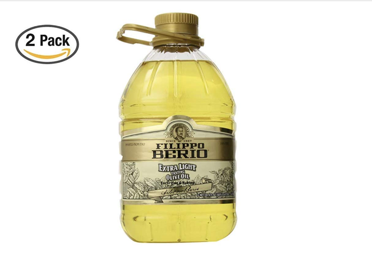 Filippo Berio Extra Light Olive Oil, 101.4 Fluid Ounce (2 Pack) by Filippo Berio (Image #1)