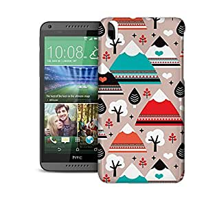 Phone Case For HTC Desire 816 - South Western Mountain Ranges Snap-On Glossy