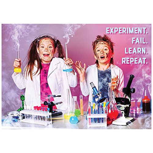 - Creative Teaching Press Poster Experiment. Fail. Learn. Repeat. Inspire U Poster, Gr. 3+ (7272)