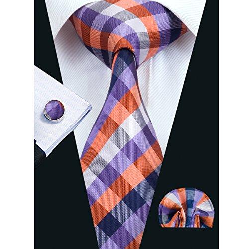 Hi Tie New Design Plaid Necktie product image