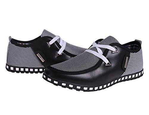Otro Verano The New Style Hombres Casual Zapatos Black