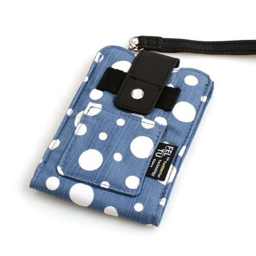 System-S Custodia in tessuto Custodia Case Sleeve Custodia protettiva in blu per APPLE IPHONE 3 G 3 GS 4 iPod Touch