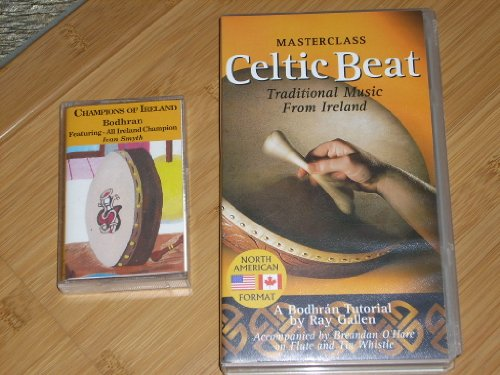 - A Bodhran Tutorial by Ray Gallen: MASTERCLASS CELTIC BEAT Traditional Music from Ireland (VHS Video NTSC - 1998). PLUS Audiocassette: CHAMPIONS OF IRELAND BODHRAN featuring All Ireland Champion IVAN SMYTH with 15 songs.