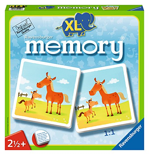 Mein Erstes XL Memory Tiere Board Game