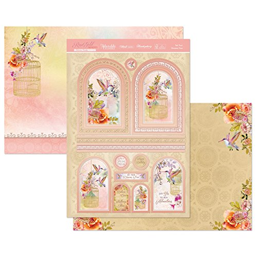Hunkydory Crafts Rose Gold Moments Set Your Dreams Free Topper Set ROSEMOM904