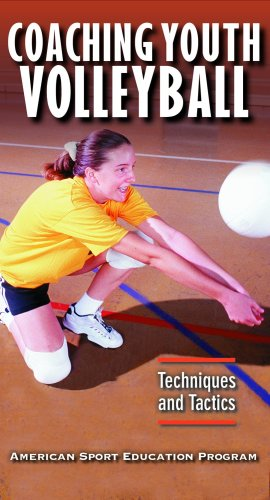 Coaching Youth Volleyball Video: Techniques & Tactics [VHS]