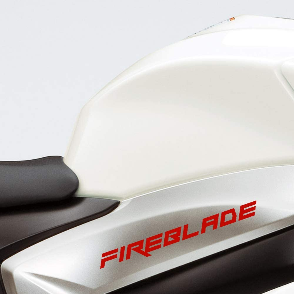 Gloss Black Motorcycle Superbike Sticker Decal Pack Waterproof for Honda Fireblade
