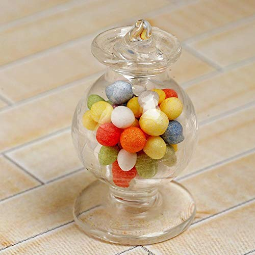 Used, Agordo Miniature Candy Jar Bowls Glass Dollhouse Glassware for sale  Delivered anywhere in USA