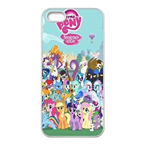 My Little Pony iPhone 5 5s Cell Phone Case White Delicate gift AVS_713010