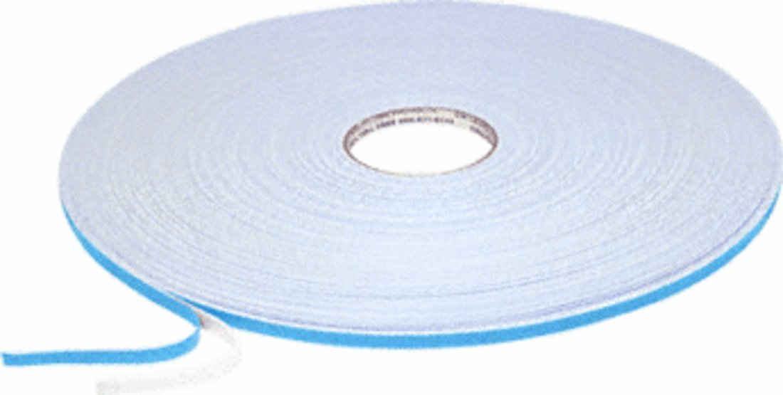 C.R. LAURENCE 982116X38W CRL White 1/16'' x 3/8'' Double Sided Glazing Tape