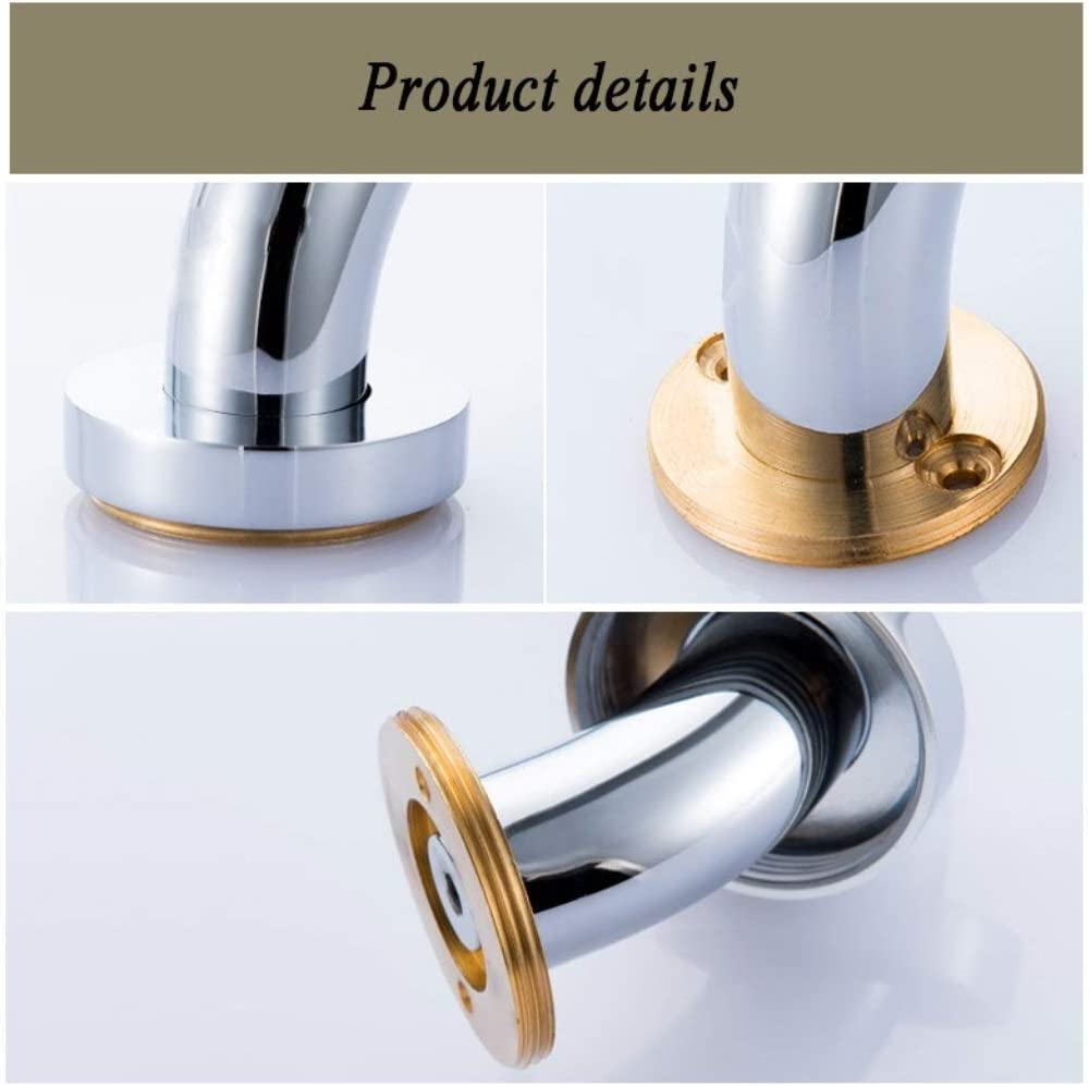 Bad Badewanne Toilette Toilette Treppenhaus /Ältere Behinderte Handlauf Messing + Keramik 2 ST/ÜCKE Sicherheitshandlauf Dusche Rutschfester Sicherheitsgriff