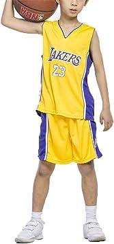 FILWS Jersey De Baloncesto Lebron James Uniforme De ...