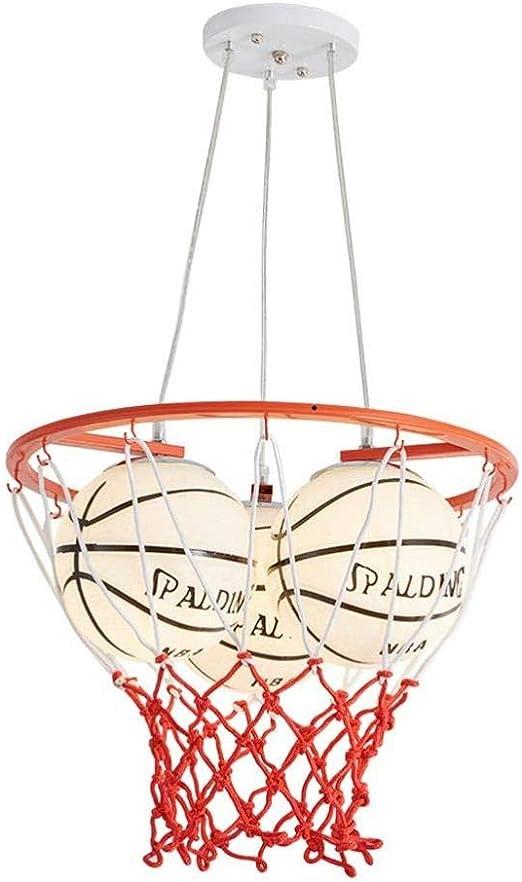 Plafonnier De, Lampe De Lustre 3 Têtes Nba Basketball Design