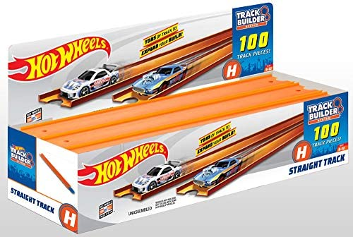 Mattel Hot Wheels track lot of 12 pieces 21 inch long with 11 connector Joiners