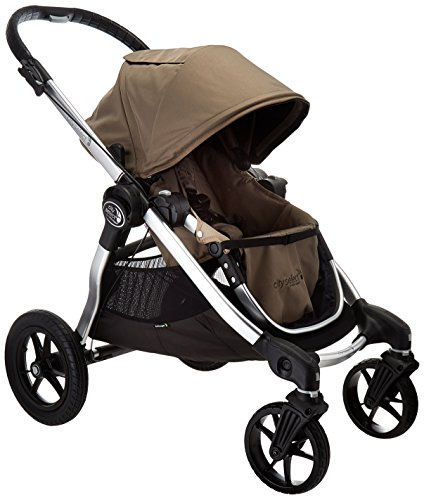 Baby Jogger Baby City Select Single Stroller with Silver Fra