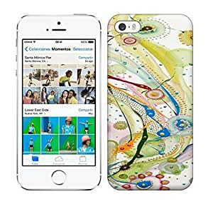 Best Power(Tm) HD Colorful Painted Watercolor Original Abstract Flower Art Painting Hard For SamSung Galaxy S4 Mini Phone Case Cover