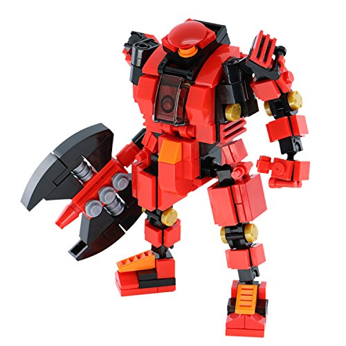 MyBuild Rita 5006 Quality Building Kit 5 Tall Mecha Frame 5 Cool Mech Build with Highly Posable Frame and Hatch Design
