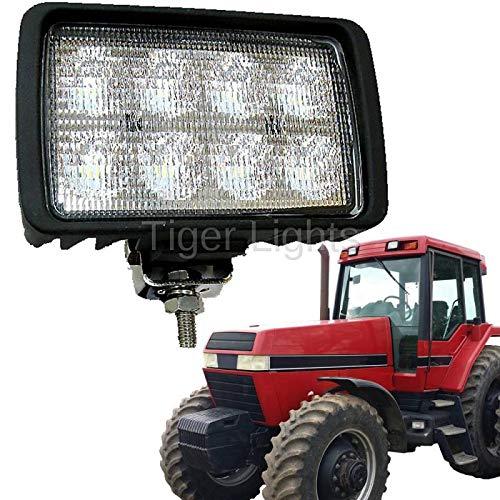 LED Tractor Light (Fits Case Backhoe, Case Crawler Dozer, Case IH Tractor, Magnum, MX Series, STX Series, Ford New Holland Tractor, John Deere Excavator, John Deere Wheel Loader, Steiger Tractor) (Best Wheel Loader For Farm)