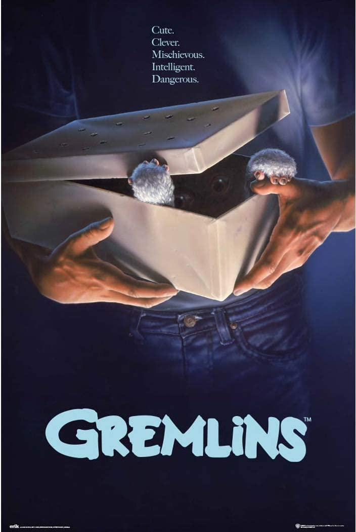 Gremlins - Movie Poster (Regular Style) (Size: 24 x 36 inches)