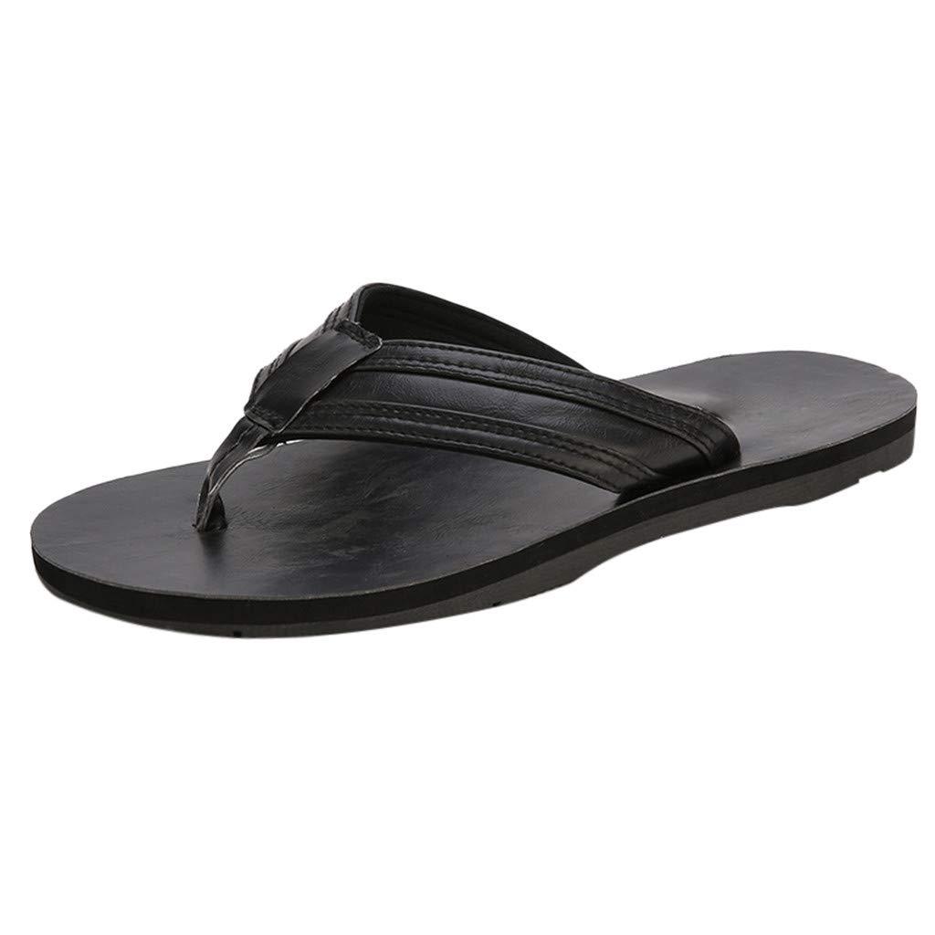 Men's Summer Beach Breathable Shoes Sandals Male Slipper Flip-Flops Flat Shoes