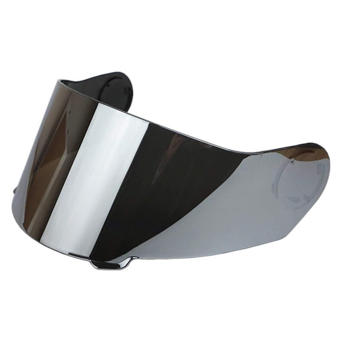 TORC T27 T27B Visor Replacement Vcan V270/V270B Motorcycle Helmet Shield Lens (sliver)